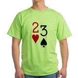 Deuce of Hearts Trey of Spades T-Shirt