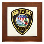 Inglewood Police Framed Tile