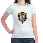 Inglewood Police Jr. Ringer T-Shirt