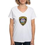 Inglewood Police Women's V-Neck T-Shirt