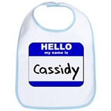 hello my name is cassidy  Bib