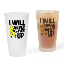 Endometriosis I Will Never Give Up Drinking Glass