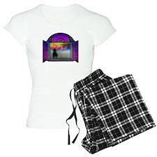 BIBLICAL CLOUD OUTSIDE WINDOW Pajamas