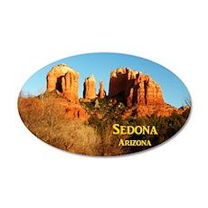 Sedona_11x9_CathedralRocks 35x21 Oval Wall Decal