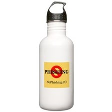 Nophishing Yellow Water Bottle
