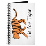 T is for Tiger Journal