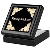Black Gold Keepsake Box
