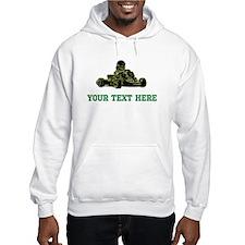 Custom Kart (Black/White/Green) Hoodie