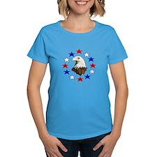 Bald Eagle American Star Tee
