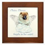Chow Angel Framed Tile