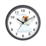 Chow Angel Wall Clock