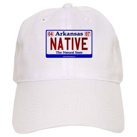 Arkansas License Plate (Nativ Cap