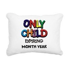 ONLY CHILD Rectangular Canvas Pillow
