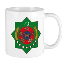 Turkmenistan Coat of Arms Mug