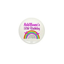 BLESSED 50TH Mini Button (10 pack)