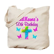 DELIGHTFUL 50TH Tote Bag