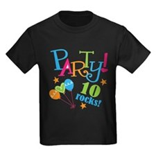 10th Birthday Party T