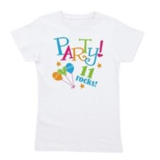 11th Birthday Party Girl's Tee