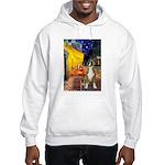 Cafe & Boxer Hooded Sweatshirt