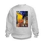 Cafe & Boxer Kids Sweatshirt