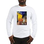Cafe & Boxer Long Sleeve T-Shirt