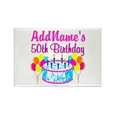 50TH PARTY Rectangle Magnet