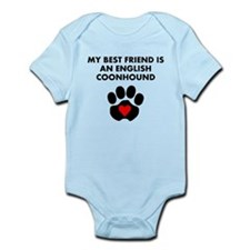My Best Friend Is An English Coonhound Body Suit