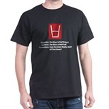Accountant Half Glass T-Shirt