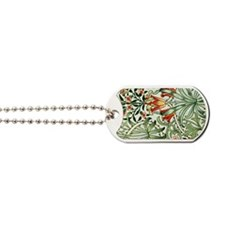 Vintage William Morris pattern, Woodland Dog Tags