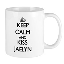 Keep Calm and kiss Jaelyn Mugs