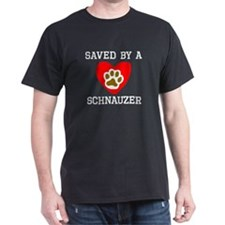Saved By A Schnauzer T-Shirt