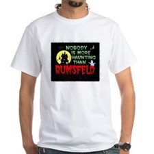 Rumsfeld Horror Cotton T-Shirt