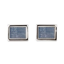 Worn-out Denim Jeans Cufflinks