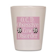 ocdcowslider Shot Glass