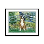 Bridge & Boxer Framed Panel Print