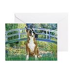 Bridge & Boxer Greeting Cards (Pk of 10)