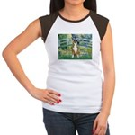 Bridge & Boxer Women's Cap Sleeve T-Shirt