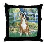 Bridge & Boxer Throw Pillow