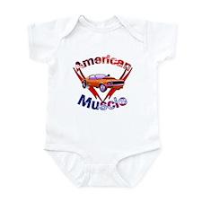 American Muscle Infant Bodysuit