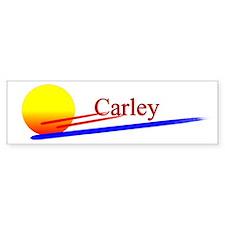 Carley Bumper Bumper Sticker
