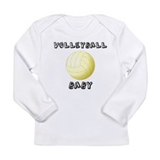 Volleyball Baby Long Sleeve T-Shirt