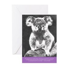 "6 ""Vintage Postcards"" Koala Greeting Cards"