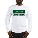 Visit Beautiful Austria Long Sleeve T-Shirt