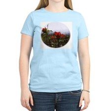 Photograph and Digital Design Women's Pink T-Shirt