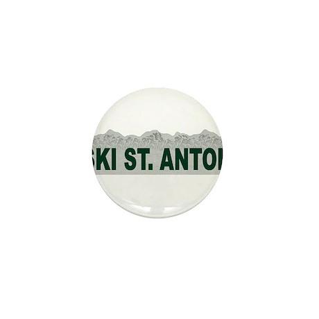 Ski St. Anton, Austria Mini Button (100 pack)