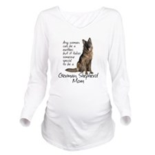 Shepherd Mom Long Sleeve Maternity T-Shirt