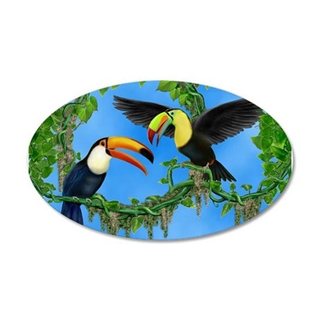TOUCAN PLAY Wall Decal