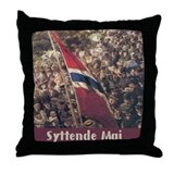 The Syttende Mai Store Throw Pillow