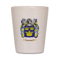Wards Family Crest (Coat of Arms) Shot Glass