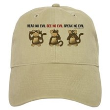 Hear No Evil... Baseball Cap